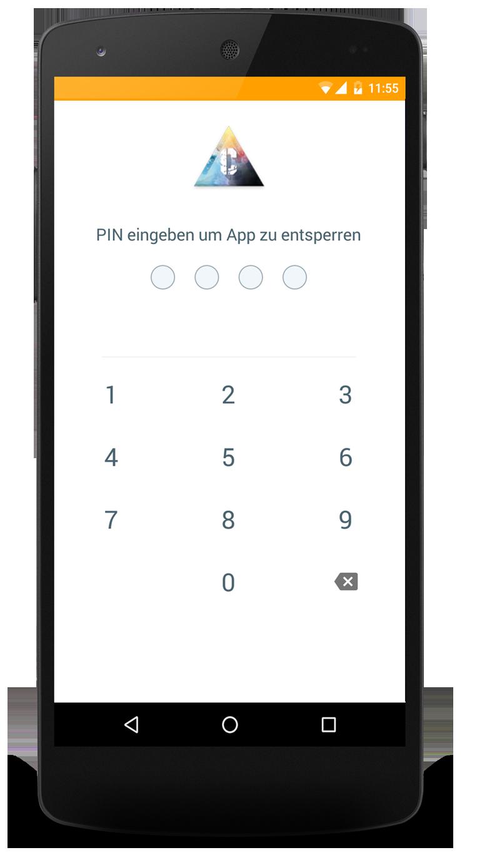 Datenschutz in der App